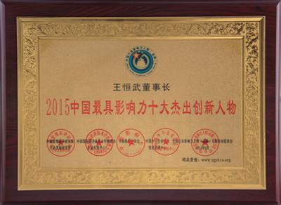 2015中国最具影响力十大杰出创新人物1